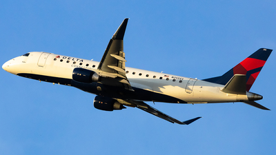 A picture of N255SY - Embraer E175LR - Delta Air Lines - © Angelos Panou
