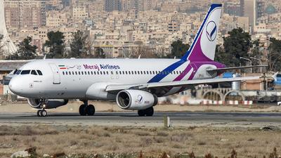 EP-AJI - Airbus A320-232 - Meraj Air