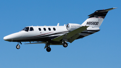 N858DD - Cessna 525 Citation CJ1 - Private