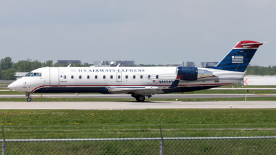 N469AW - Bombardier CRJ-200ER - US Airways Express (Air Wisconsin)