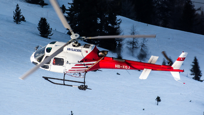 HB-XQJ - Eurocopter AS 350B3 Ecureuil - Air Glaciers (Heli-Linth)