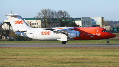 EC-MEO - British Aerospace BAe 146-300(QT) - TNT Airways (Pan Air L�neas A�reas)