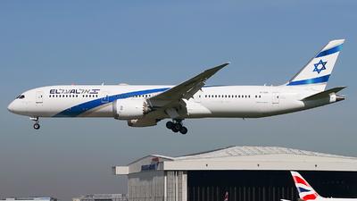 A picture of 4XEDB - Boeing 7879 Dreamliner - El Al - © Simon330lover