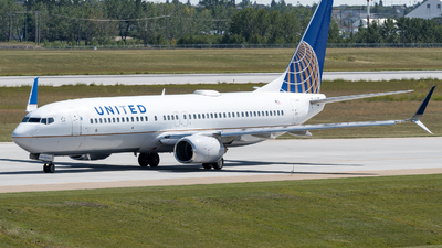 N17244 - Boeing 737-824 - United Airlines
