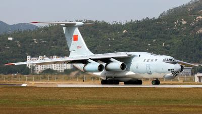 20542 - Ilyushin IL-76TD - China - Air Force