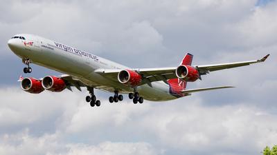 G-VMEG - Airbus A340-642 - Virgin Atlantic Airways