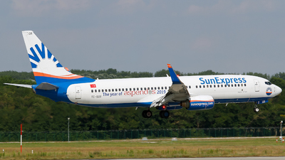 TC-SOR - Boeing 737-8AS - SunExpress