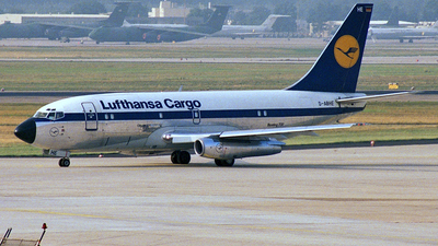 D-ABHE - Boeing 737-230C - Lufthansa Cargo