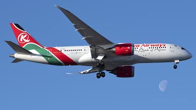 A picture of 5YKZJ - Boeing 7878 Dreamliner - Kenya Airways - © Mark Szemberski