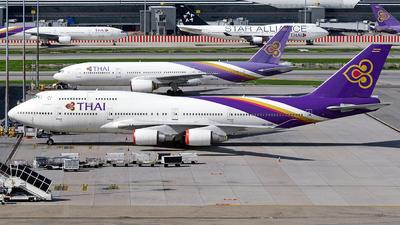 A picture of HSTGB - Boeing 7474D7 - [32370] - © Tek