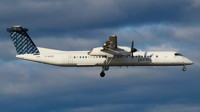 A picture of CGLQX - De Havilland Canada Dash 8400 - Porter Airlines - © DAMN.
