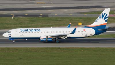 TC-SPD - Boeing 737-8AS - SunExpress