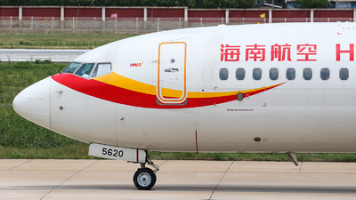 B-5620 - Boeing 737-84P - Hainan Airlines