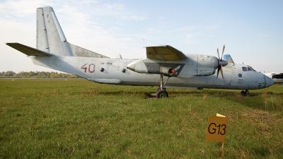 UR-MMB - Antonov An-26Sh - Meridian