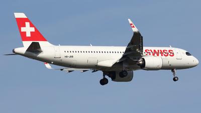 A picture of HBJDB - Airbus A320271N - Swiss - © Pawel Cieplak