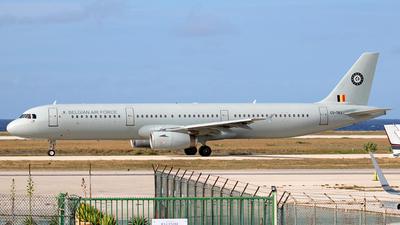 CS-TRJ - Airbus A321-231 - Belgium - Air Force (HiFly)