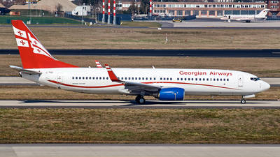 A picture of 4LTGC - Boeing 7378FH - Georgian Airways - © JakkoFly
