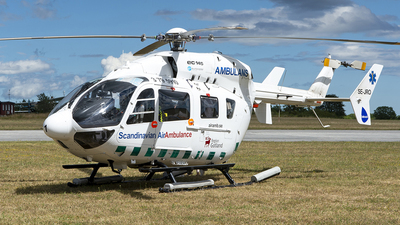 A picture of SEJRO - Airbus Helicopters H145 - Babcock Scandinavian AirAmbulance - © Peter Liander