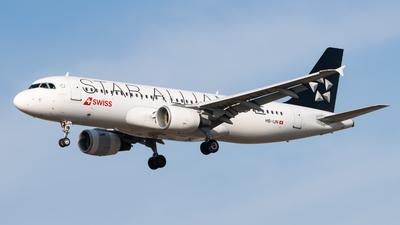 A picture of HBIJN - Airbus A320214 - Swiss - © LukᚠVardžák
