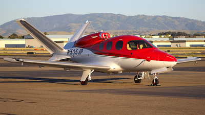 N535JP - Cirrus Vision SF50 - Cirrus Design Corporation