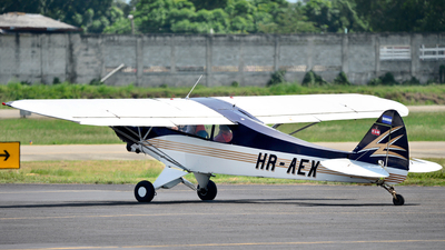 HR-AEX - Piper PA-18 Super Cub - Private