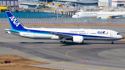 JA897A - Boeing 787-9 Dreamliner - All Nippon Airways (Air Japan)