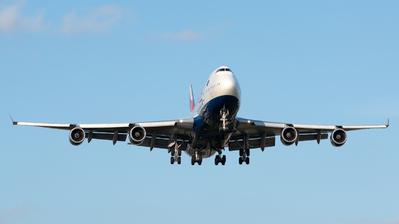 G-CIVZ - Boeing 747-436 - British Airways