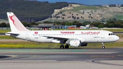 TS-IMD - Airbus A320-211 - Tunisair