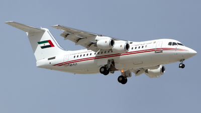 A6-RJ1 - British Aerospace Avro RJ85 - United Arab Emirates - Dubai Air Wing