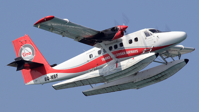 8Q-MBF - De Havilland Canada DHC-6-300 Twin Otter - Trans Maldivian Airways