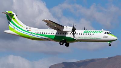 A picture of ECMYT - ATR 72600 - Binter Canarias - © Alberto Plá