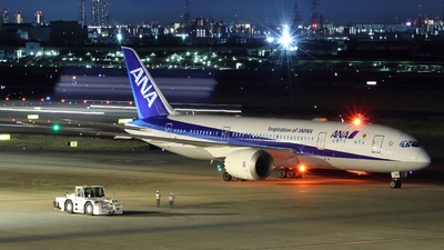 A picture of JA819A - Boeing 7878 Dreamliner - All Nippon Airways - © PENG787