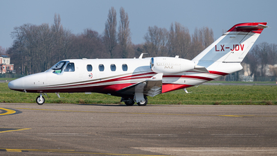 LX-JDV - Cessna 525 CitationJet M2 - Flying Group