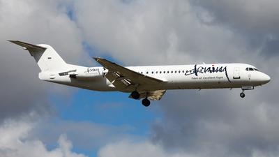 PH-LND - Fokker 100 - Denim Air