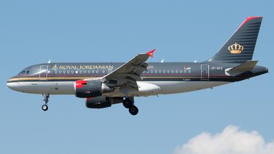 A picture of JYAYZ - Airbus A319111 - Royal Jordanian - © Stefan Bayer