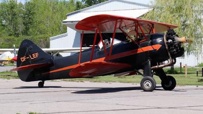 CF-LEF - Waco UPF-7 - Ottawa Biplane Adventures