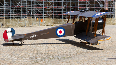 9828 - Avro 504K - United Kingdom - Royal Flying Corps (RFC)