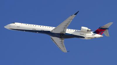 A picture of N349PQ - Mitsubishi CRJ900LR - Delta Air Lines - © Jeremy D. Dando