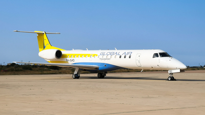 5A-GAD - Embraer ERJ-145LR - Global Air