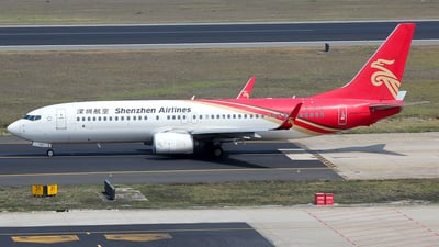 A picture of B1518 - Boeing 73787L - Shenzhen Airlines - © Wanping Chen
