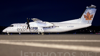 C-FADF - Bombardier Dash 8-311 - Air Canada Express (Jazz Aviation)