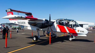 N408DF - North American OV-10A Bronco - United States - California Department of Forestry