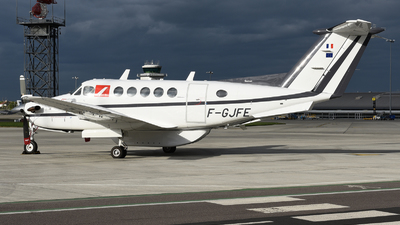 F-GJFE - Beechcraft B200 Super King Air - Aero Sotravia