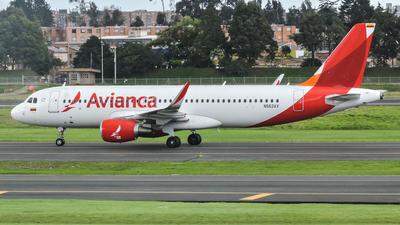 N562AV - Airbus A320-214 - Avianca