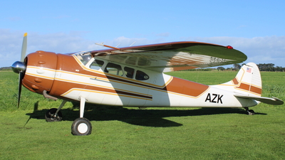 ZK-AZK - Cessna 195 - Private
