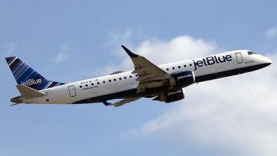 A picture of N373JB - Embraer E190AR - JetBlue Airways - © mariaLXY
