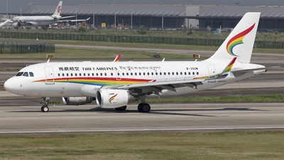 A picture of B300W - Airbus A319115 - Tibet Airlines - © Eric Wang