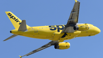 N519NK - Airbus A319-132 - Spirit Airlines