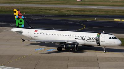 TS-INA - Airbus A320-214 - Afriqiyah Airways