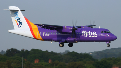 G-ISLF - ATR 42-500 - Flybe (Blue Islands)